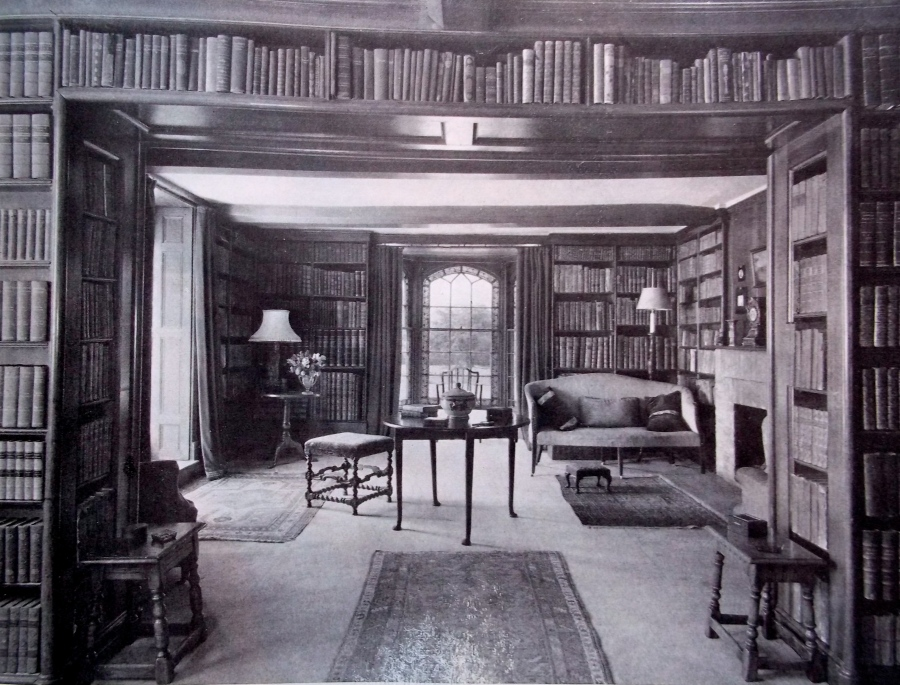 THE LIBRARY FORMED BY PHINEAS HUSSEY ABOUT 1822