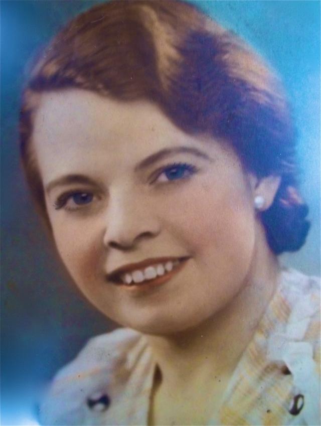 Ethel Mary Cooper, nee Horton.  1913-2011