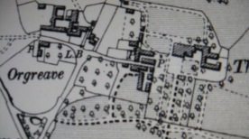 OS 1901 - Following the extension of Orgreave House. www.oldmapsonline.org